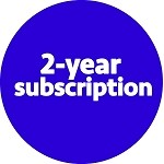 Two-year subscription (domestic shipping)